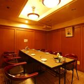 【寛ぎの空間◎4~8名様用の半個室】パーテーションで仕切っており、プライベートな空間を演出。会社宴会・打ち上げetc…多彩なシーンでご活用ください♪