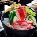 料理メニュー写真すき焼き 小鍋