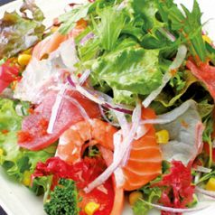 料理メニュー写真海鮮楽蔵サラダ