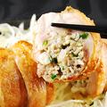 料理メニュー写真名物!鉄板鶏餃子
