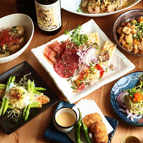 季節に合わせた旬の国産食材を厳選使用♪ホッとできる料理の数々をぜひご堪能下さい