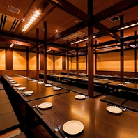博多駅の宴会なら!2名様~106名様の個室あり!
