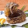 料理メニュー写真[限定品]うつぼドラゴン揚げ