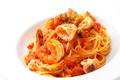 料理メニュー写真魚介のトマトパスタ