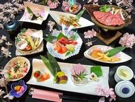 旬の食材で季節を感じる和食のコース・ランチが大人気♪