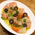 料理メニュー写真本日のお魚カルパッチョ