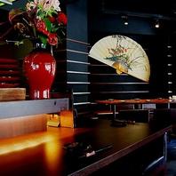 和の店内で味わう日本の心