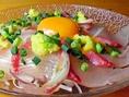 こだわりの新鮮な食材を使用した料理はどれも絶品!