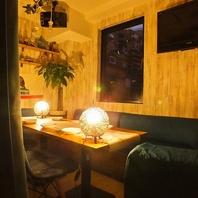 【6名~10名様まで】寛げるソファー個室を完備☆