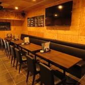 海鮮 地鶏 炭焼酒場 はまやの雰囲気2