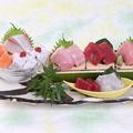 料理メニュー写真旬の旨魚造り盛