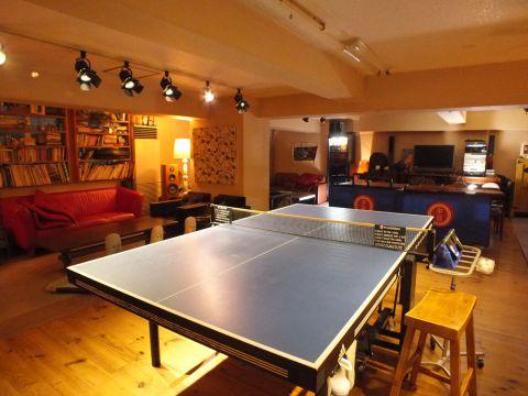 卓球,バー,居酒屋,東京,料金,画像