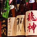 料理メニュー写真全国地酒を始め東京ではなかなか飲めない日本酒も数多くご用意! 430円(税抜)より