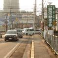賀茂自動車学校を西条バイパス方面に直進。