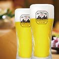 生ビール(アサヒスーパードライ)中ジョッキが毎日なんと290円!