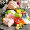 東北の旨い地酒が勢揃い!地酒に合う鮮魚もご用意しております。捕れたての新鮮な鮮魚のお刺身と日本酒・焼酎の相性は抜群!お酒の場には欠かせない鮮魚をお楽しみください。また、お得にご宴会をお楽しみ頂けるクーポンも配布中☆是非ご覧ください!(仙台/居酒屋/海鮮/牛タン/個室/宴会/日本酒/飲み放題/歓迎会)