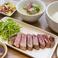 料理メニュー写真タイスタイル 牛肉のグリルSET
