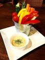 料理メニュー写真季節の野菜スティック