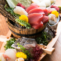 料理メニュー写真大漁舟 鮮魚七種盛り※シャリ・海苔付き