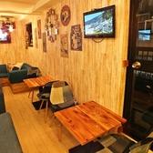 ◆デートにも◆2名席もご用意♪カフェのオシャレな料理と一緒にお店の内観をご堪能!!