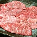 料理メニュー写真黒毛和牛ロース
