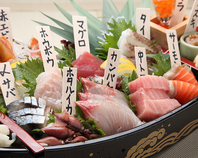 こだわりの魚と豊富なお酒が魅力◎