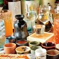 種類豊富な飲み放題で宴会も盛り上がります!
