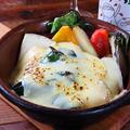 料理メニュー写真無農薬野菜のラクレットチーズ 全部のせ