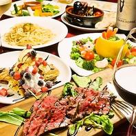 専属シェフが作る美食料理の数々!