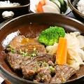 料理メニュー写真大人気!!牛たん&山かけ定食