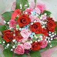 花束のご用意も致します!!大事な人を迎え入れる/送り出す/お祝い事に、チカニシキからささやかながらプレゼントです♪※貸切の場合に限ります。事前にお電話にてお申し付けください!