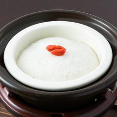 料理メニュー写真[萬来鍋] 阿波尾鶏 つくね薯蕷蒸し