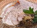 料理メニュー写真能登豚の自家製生ハム