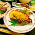 料理メニュー写真伊勢海老の雲丹クリーム焼き