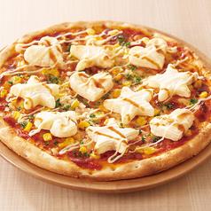もちポテマヨコーンピザ