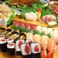 本格職人のにぎり寿司!ネタは新鮮、シャリはひと肌♪鮮度にこだわったネタを、職人が丁寧な仕事で仕上げます。会社での宴会・仕事帰り・家族での食事・デート・女子会etc幅広いシーンに是非是非ご利用ください!