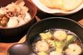 料理メニュー写真海老とアボカドのアヒージョ