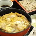 料理メニュー写真親子丼そばセット