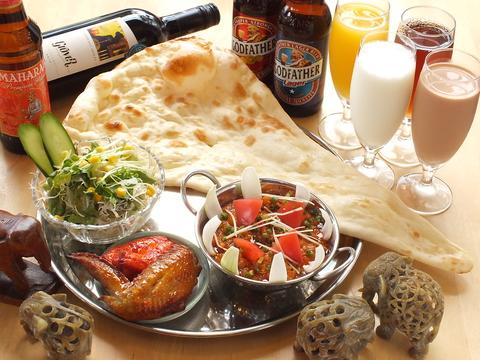 丹波市にある隠れ家的インド料理のお店♪本場シェフの味を楽しめます