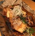 料理メニュー写真豚肉ときのこの朴葉味噌焼き