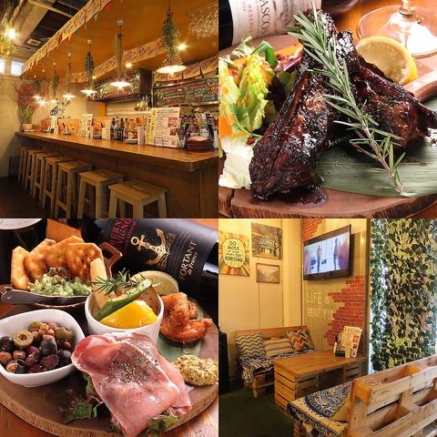 【伊丹酒蔵通りの人気店 メロウ】 カジュアルな空間で大切な人と楽しい時間を!