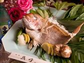 厄入り・厄払い・お祝い事に焼鯛サービスあり!★1週間前に【コース予約】された方に限る。★鯛の大きさは人数によって異なります。