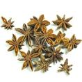 【八角(はっかく)】…別名スターアニスと呼ばれる八角は独特な香りが人気な香辛料。脚気、食欲不振、消化不良、血行障害などに効能あり★