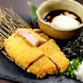 料理メニュー写真長崎芳寿豚のひと口カツ