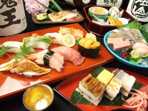 本店は、百貨店でも販売されている歴史ある『大阪寿司』を店内で楽しめる唯一のお店!