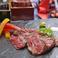 料理メニュー写真熟成国産牛ステーキ