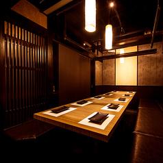 朝採れ鮮魚と個室居酒屋 九兵 新橋駅前店の雰囲気1