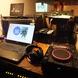 120インチプロジェクター、音響設備、マイク2本完備!