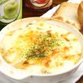料理メニュー写真ホタテとキノコのグラタン