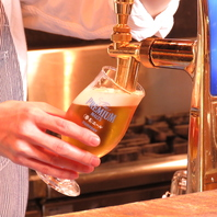 これからの季節はキンキンに冷えたビールで乾杯☆